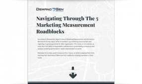 Navigating Through The 5 Marketing Measurement Roadblocks
