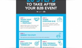 20 Steps To Take After Your B2B Event