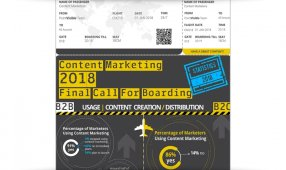 Content Marketing 2018: Final Call For Boarding