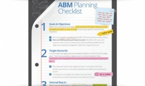 The ABM Planning Checklist