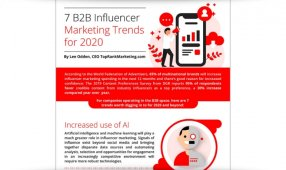 7 B2B Influencer Marketing Trends For 2020