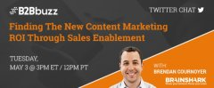 Finding The New Content Marketing ROI Through Sales Enablement