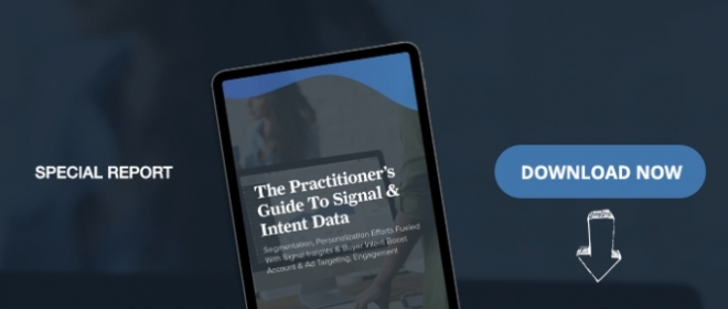 The Practitioner's Guide To Signal & Intent Data