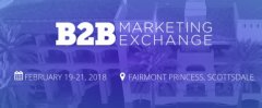 The B2B Marketing Exchange 2018