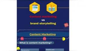 Content Marketing Versus Brand Storytelling