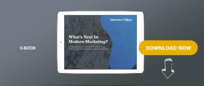 What's Next In Modern Marketing?