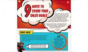 9 Ways To Crush Your Sales Goals