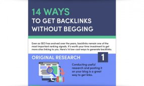 14 Ways To Get Backlinks Without Begging