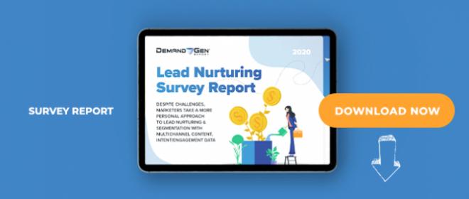 2020 Lead Nurturing Survey Report