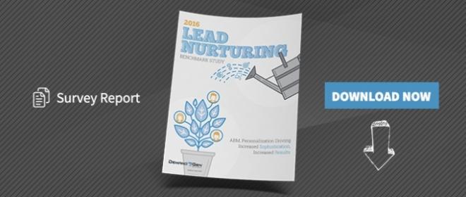 2016 Lead Nurturing Benchmark Study