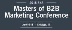 2018 Masters of B2B Marketing