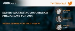 Expert Marketing Automation Predictions For 2016