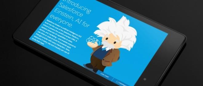 Salesforce Unveils Einstein AI Across CRM Cloud