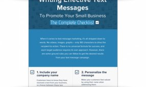 Writing Effective Text Messages To Promote Your Business