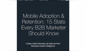 15 Mobile Stats For B2B Marketers